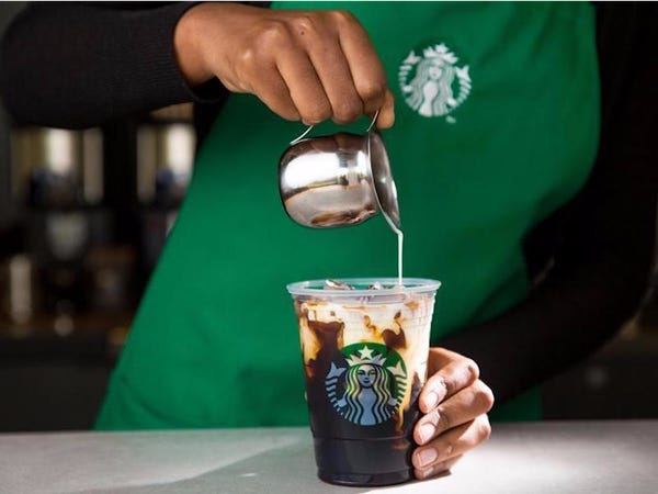 How Many Calories in Starbucks Iced Coffee